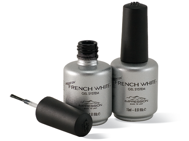 UNIQUE Brush On French White Gel